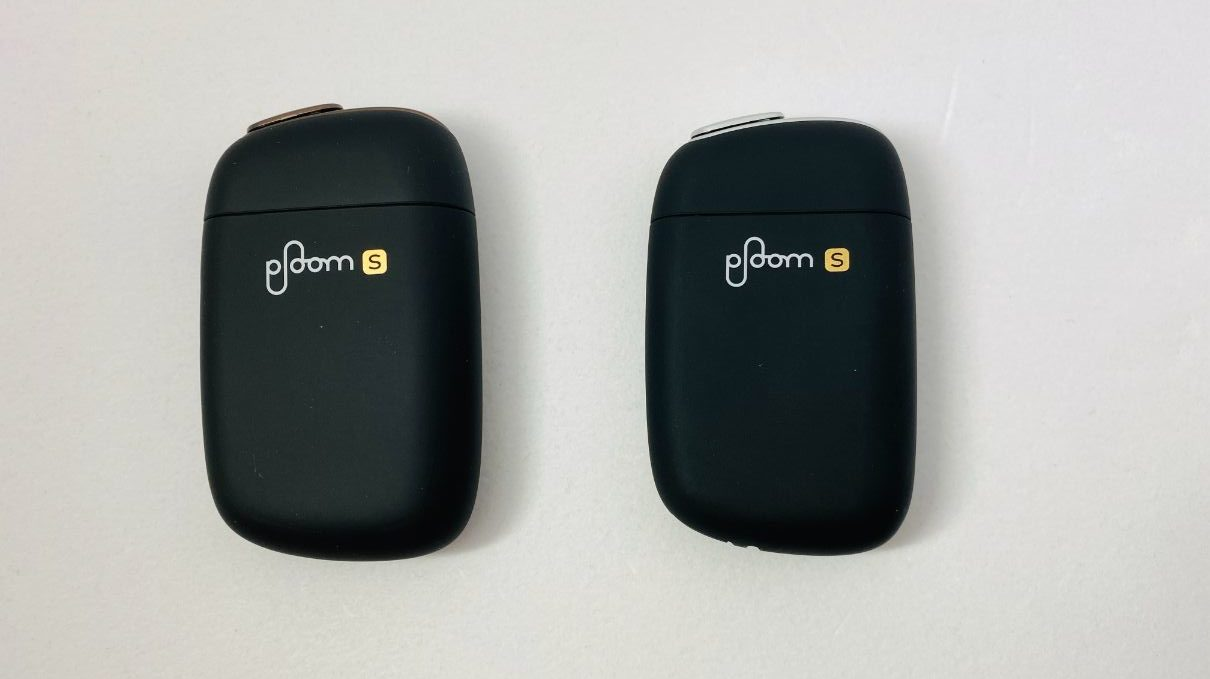 Ploom S 2.0 と旧型Ploom S比較正面